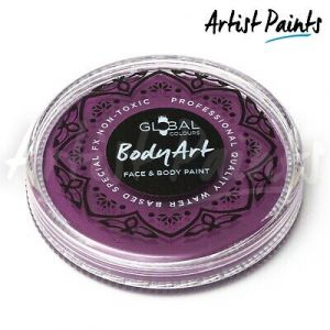 DEEP MAGENTA - 32g Global Colours Professional Face Paint Makeup Cake Body Art