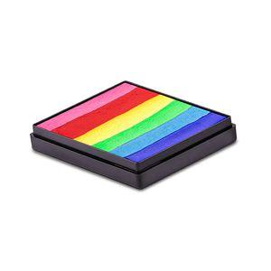 BRIGHTEST RAINBOW – Global Colours Split Cake Magnetic Face & BodyArt Paint