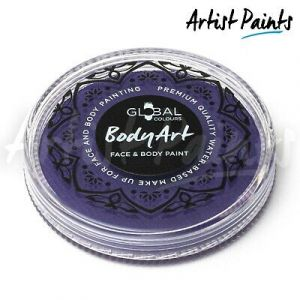 PURPLE - 32g Global Colours Professional Face Paint Makeup Cake Body Art