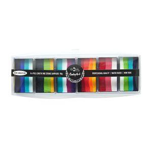 One Stroke Variety Palette Rainbow Burst