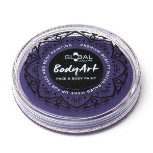PURPLE - 32g Global Colours Professional Face Paint Makeup Cake Body Art
