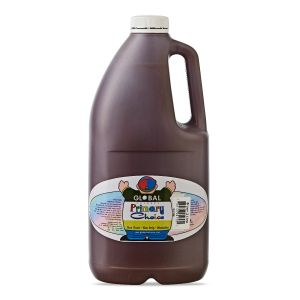 Brown - Global Colours Primary Choice Acrylic Paint - 2 Litre