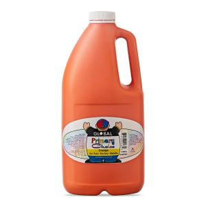 Orange - Global Colours Primary Choice Acrylic Paint - 2 Litre