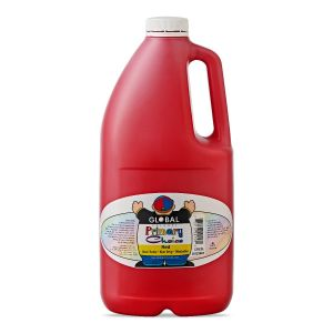 Red - Global Colours Primary Choice Acrylic Paint - 2 Litre
