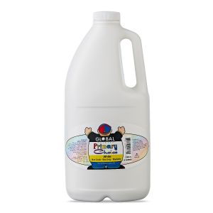 White - Global Colours Primary Choice Acrylic Paint - 2 Litre