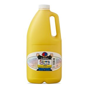 Yellow - Global Colours Primary Choice Acrylic Paint - 2 Litre