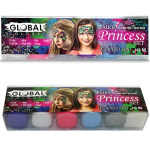 Fairy Princess Set - Face & Body Paint Liquid 6pkt