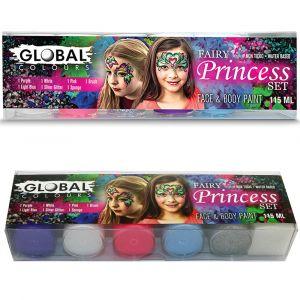 Fairy Princess Set - Face & Body Paint Liquid 6pkt