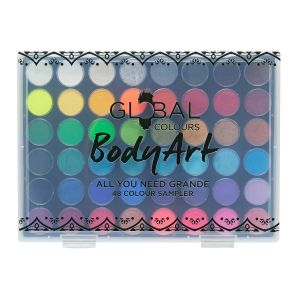 All You Need Grande – Global Colours BodyArt Palette (48 Colours) 48 x 6g