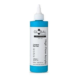 Cerulean Blue Hue - Global Colours High Flow PROFESSIONAL Acrylic