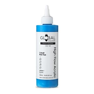 Cobalt Blue Hue - Global Colours High Flow PROFESSIONAL Acrylic