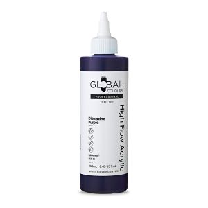 Dioxazine Purple - Global Colours High Flow PROFESSIONAL Acrylic