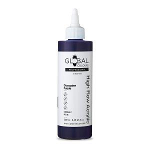 Dioxazine Purple - Global Colours High Flow PROFESSIONAL Acrylic
