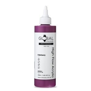 Elderberry - Global Colours High Flow PROFESSIONAL Acrylic