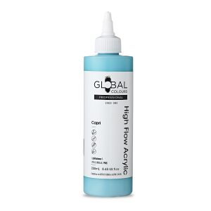 Capri - Global Colours High Flow PROFESSIONAL Acrylic