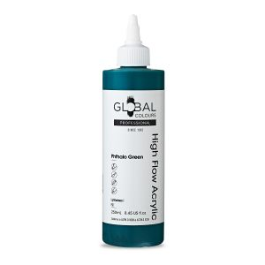 Phthalo Green - Global Colours High Flow PROFESSIONAL Acrylic