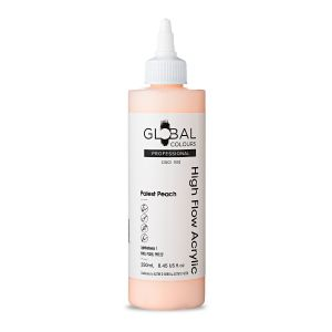 Palest Peach - Global Colours High Flow PROFESSIONAL Acrylic