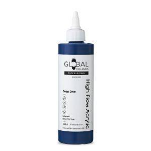 Deep Dive - Global Colours High Flow PROFESSIONAL Acrylic