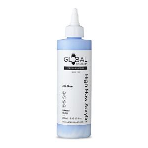 Blue Tranquillity - Global Colours High Flow PROFESSIONAL Acrylic