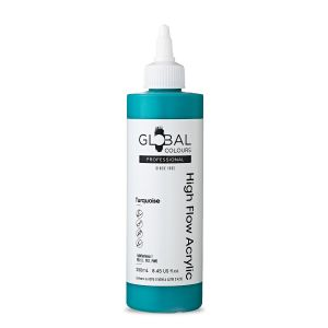 Turquoise - Global Colours High Flow PROFESSIONAL Acrylic