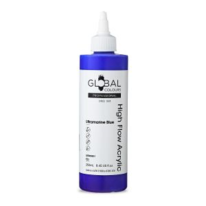 Ultramarine Blue - Global Colours High Flow PROFESSIONAL Acrylic