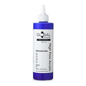 Ultramarine Blue - Global Colours High Flow PROFESSIONAL Acrylic