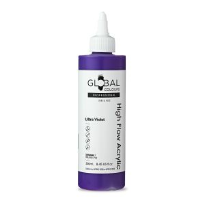 Ultra Violet - Global Colours High Flow PROFESSIONAL Acrylic