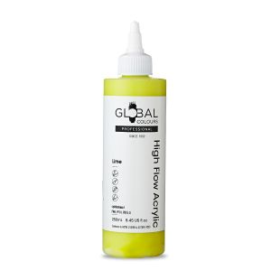Lime - Global Colours High Flow PROFESSIONAL Acrylic
