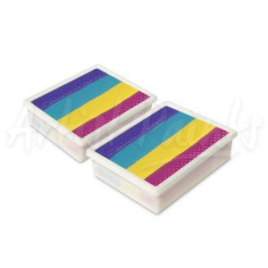 Ibiza - Global Colours Face & Body Paint 10g Palette Refill 2pkt