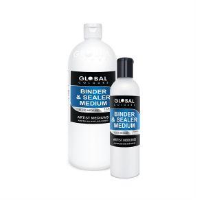 Binder & Sealer Medium | Global Colours Professional Mediums