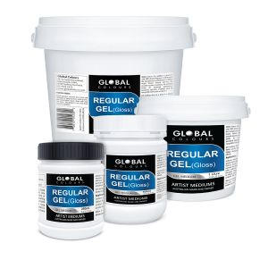 Regular Gel (Gloss) | Global Colours Professional Mediums