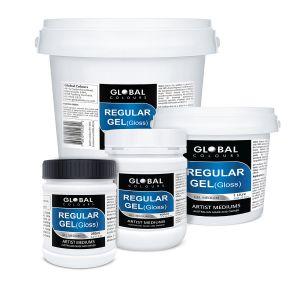 Regular Gel (Gloss) | Global Colours Professional Mediums