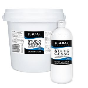 Studio Gesso  | Global Colours Professional Mediums
