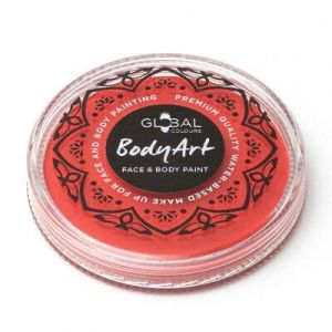 Orange - Global Colours 32g Face & Body Paint Makeup Cake Body Art