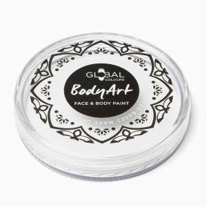 Pearl White 32g - Global Colours Face & Body Paint