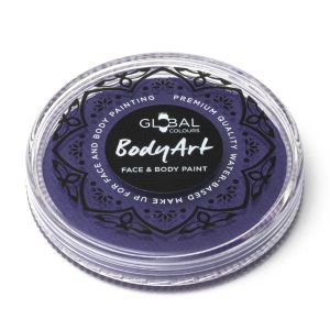 Neon Purple (UV) - Global Colours 32g Face & Body Paint Makeup Cake Body Art