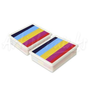 Rainbow Face & Body Paint 10g Palette Refill 2pkt