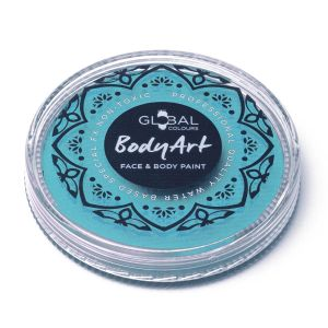 Teal - Global Colours 32g Face & Body Paint Makeup Cake Body Art