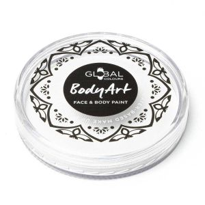 White - Global Colours 32g & 90G Face & Body Paint Makeup Cakes