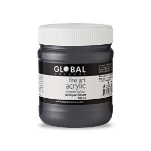 Metallic Copper - PROFESSIONAL Global Colours Fine Art Acrylic Impasto 500ml