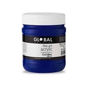Cool Blue - Global Colours PROFESSIONAL Fine Art Acrylic Impasto 500ml