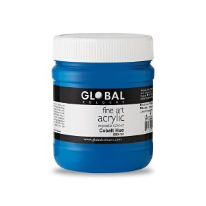 Cobalt Hue - Global Colours Fine Art Acrylic Impasto 500ml