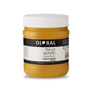 Yellow Oxide - Fine Art Acrylic Impasto 500ml