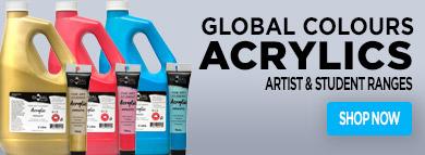 Acrylics Paints - Global Colours