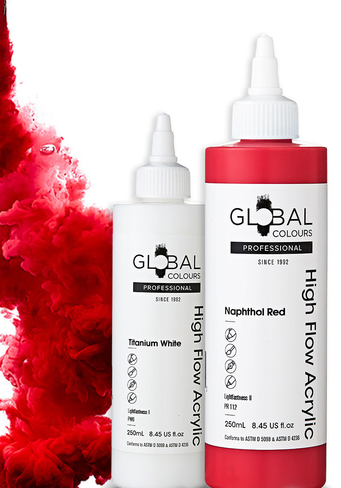 Global Colours High Flow PROFESSIONAL is back!
