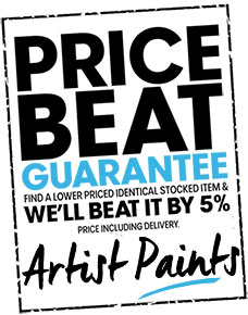 Artist Paints - Price Beat Guarantee