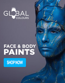 Global Colours Face and Body Paints